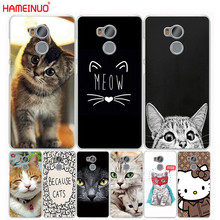 Buy HAMEINUO meow lovely cute cat kitty Cover phone Case Xiaomi redmi 4 1 1s 2 3 3s pro redmi note 4 4X 4A 5A for $1.99 in AliExpress store