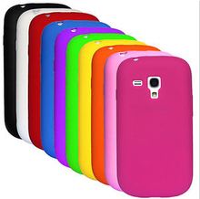 Soft Silicone Grip Rubber Gel Case Cover for Samsung Galaxy S3 Mini i8190 S III
