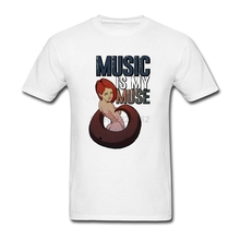 Personalised Choral tshirt man Size XL Music is my muse Mens T Nice Music Muse garment For Team