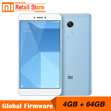 "Original Xiaomi Redmi Note 4X 4GB 64GB Snapdragon 625 Octa Core CPU 4G Mobile Phone Note 4 X 13.0MP 5.5"" FHD Fingerprint ID(China)"
