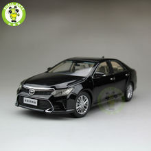 1:18 Toyota New Camry 2015 Diecast Car Model Black