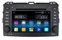 "7"" Android Car DVD Player with TV/BT GPS WIFI,Car PC/multimedia headunit Audio/Radio/Stereo for Toyota Prado 2006 2007 2008 2009(China)"