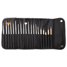 20Pcs/Set Professional Nail Art Tool Design UV Gel Salon Painting Drawing Pen Hot Selling New Quality