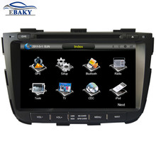 8 inch Professional Wince Car Multimedia DVD Player For KIA Sorento 2013- With GPS Navigation free Map