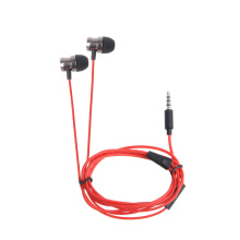 Metal Stereo Headphones Swirl Design Earphones Super Bass Headset With Microphone