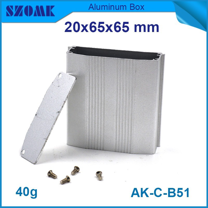 aluminium tool case 10 pcs/lot which in silver color and hold pcb electric box metal fit PCB size : 16x54.6mm<br><br>Aliexpress