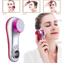Electric Facial Cleaner Ultrasonic Massager Skin Care Body Beauty Machine cleaning wrinkles blackhead pores face washing tool