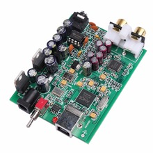 NEW K.GUSS XMOS U8 + AK4490 AMP NE5532 USB DAC Decoder Sound Card Headphone Output Support for PCM 192kHz DC9V, Free shipping(China)
