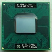 Original INTEL T7600 SL9SD CPU 4M 2.33 667 MHz(China)