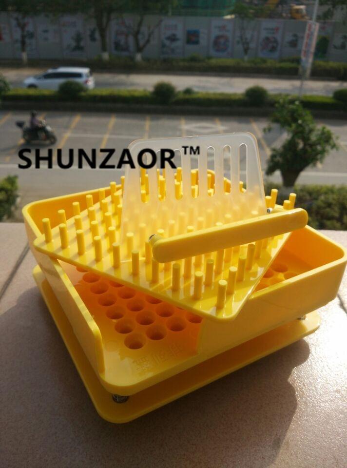 SHUNZAOR  (0# Capsule)100 holes ABS material manual capsule fillers,capsule filling machine Medical teaching tool<br>