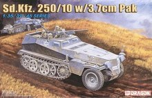 [Dragon] Plastic Model Kit 1/35 Sd. Kfz. 250/10 w/3.7cm PAK (6139)