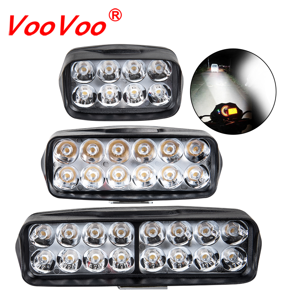Voovoo Light-Headlight Fog-Lights-Lamp Truck Tractor Boat Work-Bar Motorcycle Off-Road title=