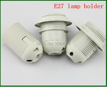 E27 LED Plastic lamp Holder Converter E27 Edison screw Light Bulb socket Holder LED Light Fixing Fitting Socket Connector