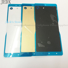 Buy JEDX M5 Back Glass Cover Sony Xperia M5 Dual E5603 E5633 Battery Cover Door Housing NFC Waterproof Sticker for $4.79 in AliExpress store