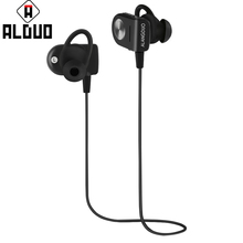 ALANGDUO EP01 Bluetooth Headset Wireless Sport Earphone in-ear headset Handsfree Earbuds Music Mic Remote Control Earphones(China)