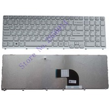NEW FOR sony vaio SVE17 SVE1711 SVE1712 SVE1713 SVE1712L1E SVE1713G1EW SVE1711C5E SVE171C11 witte Russian RU Laptop Keyboard(China)