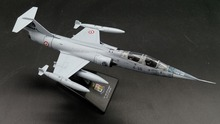 rare Value LEO 1: 100 Italian Air Force F-104 Supersonic fighter Alloy aircraft model Collection model Holiday gifts
