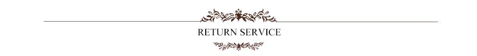 return service