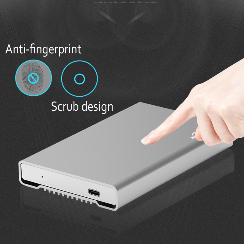 Full aluminum alloy 3.5 inch hdd enclosure Type CUSB A sata usb 3.0 hard disk caddy for 7.9mm 9.5mm 12.5mm thickness hdd ssd (1)