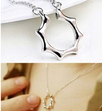 N269 Latest Fashion Master Sun Jun Personality Spell Simple Necklace Collarbone Jewelry Factory Direct