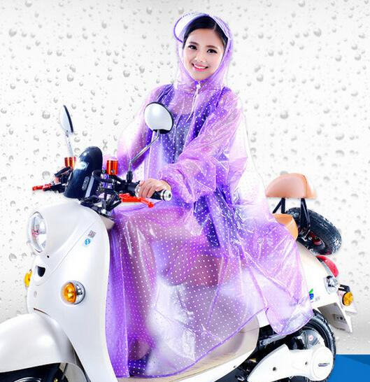 Electric motorcycle bicycle bike double Two person Conjoined raincoats man and women Electrombile Rainwear Large Size YY103