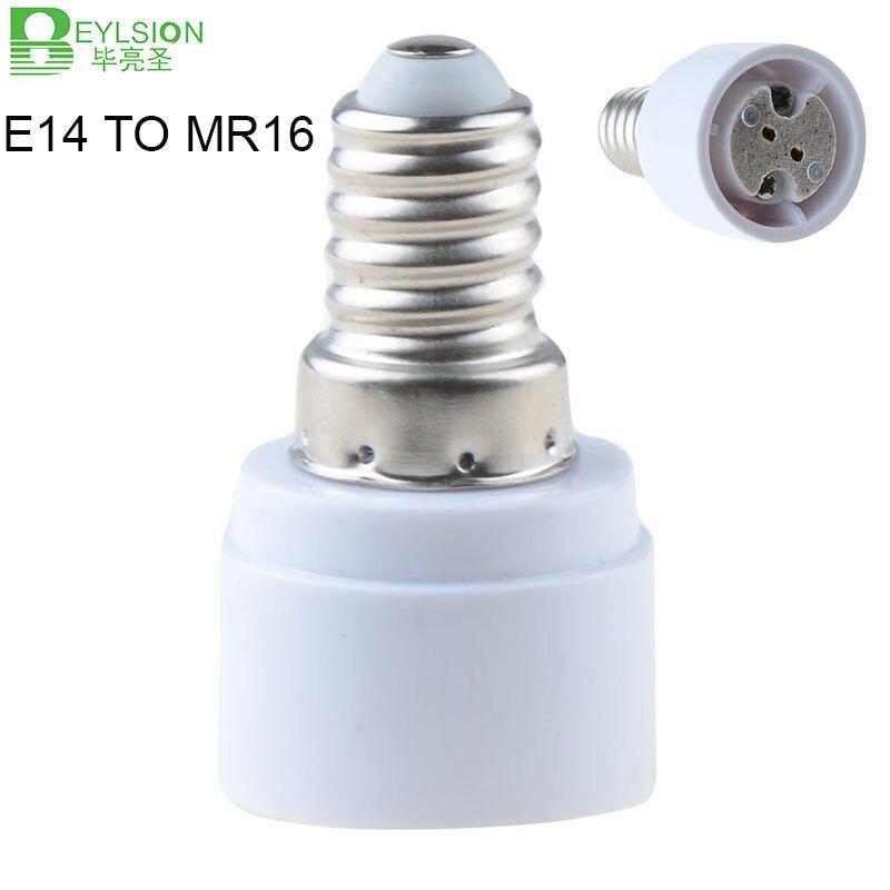0102 E14 To MR16 GU5.3 Lamp Base Socket Lamp Holder Converter Adapter 8