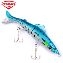 "1PC Top Quality Fishing Lures 8 colors 5""-12.7cm/17.63g-0.622oz Minnow fishing bait fishing tackle DW1076"