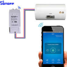 Sonoff Pow Wireless Remote control WiFi Switch ON/Off 16A With Power Consumption Measurement For Home Appliance IOS Android