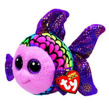 "Ty Beanie Boos 6"" 15cm Flippy Color Fish Plush Stuffed Animal Collectible Soft Big Eyes Doll Toy(China)"