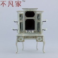 Fine dollhouse 1:12scale special offer miniature furniture shelf for clothes and hat(China)