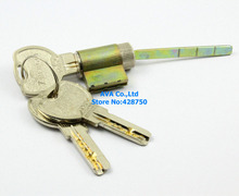 5 Pieces Lock Core Security Rim Cylinder Lock Locker + Keys
