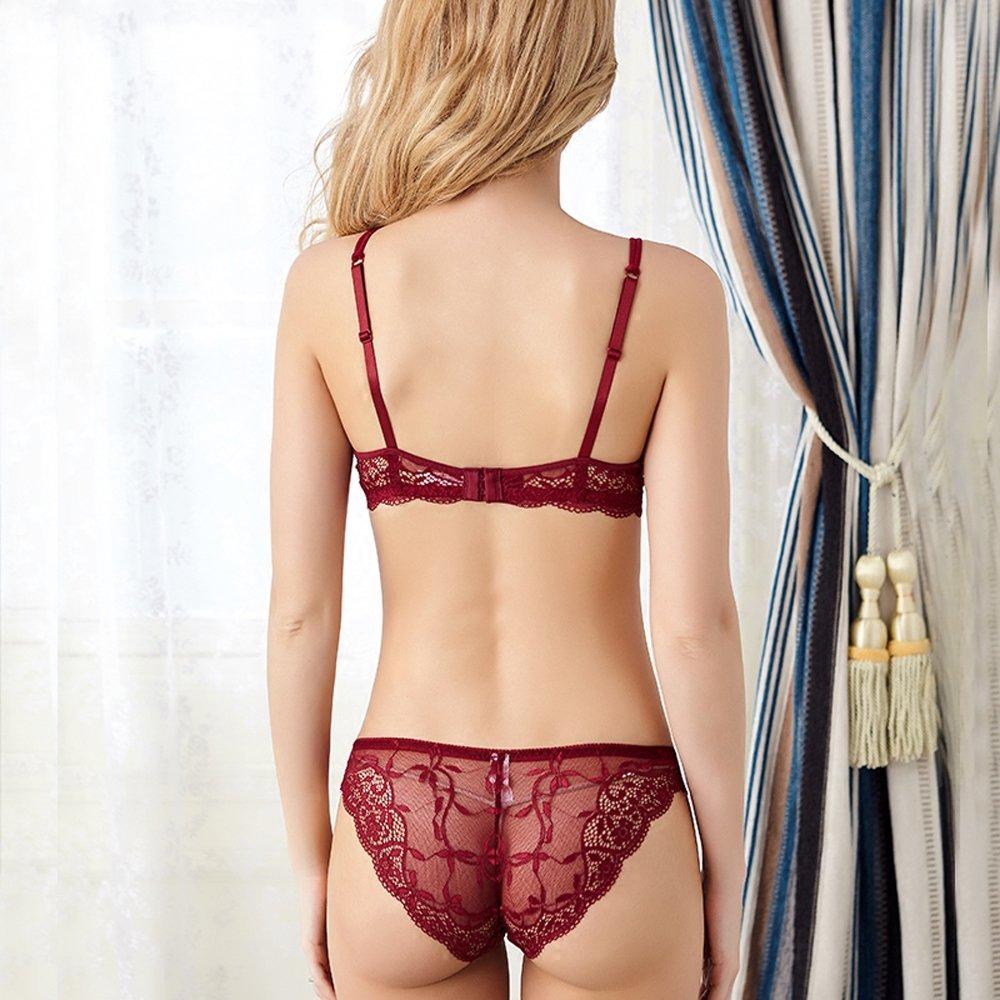 Newest Women Lingerie Sexy Lace Bra Set Transparent Sexy Push Up Bra Women Underwear Sexy Bra&Panty Sets 3