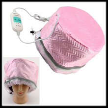 by DHL or EMS 200 pieces Electric Hair Thermal Treatment SPA Nourishing Hair Care Cap Beauty Steamer