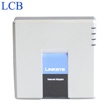 Unlocked Linksys PAP2-NA PAP2T-NA SIP IP VOIP Telephone Phone Adapter 2 FXS Telefone Server Voice System Wholesale 50pcs/lot