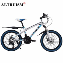 Altruism K3 Children's bicycle Aluminum Bicicleta 21 Speed 20 Inch Bisiklet Mountain Bike Bmx Double Disc Brake Velo Wheel Spoke