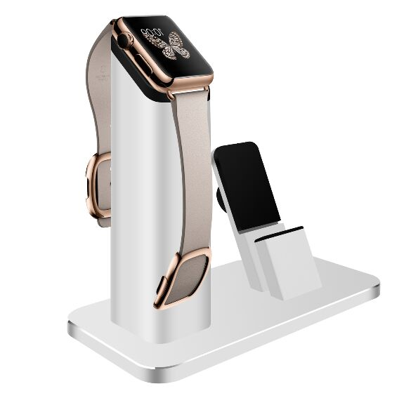 The new listing of the exclusive sales of Apple mobile phone support all metal Iwatch aluminum alloy watch charging base<br>