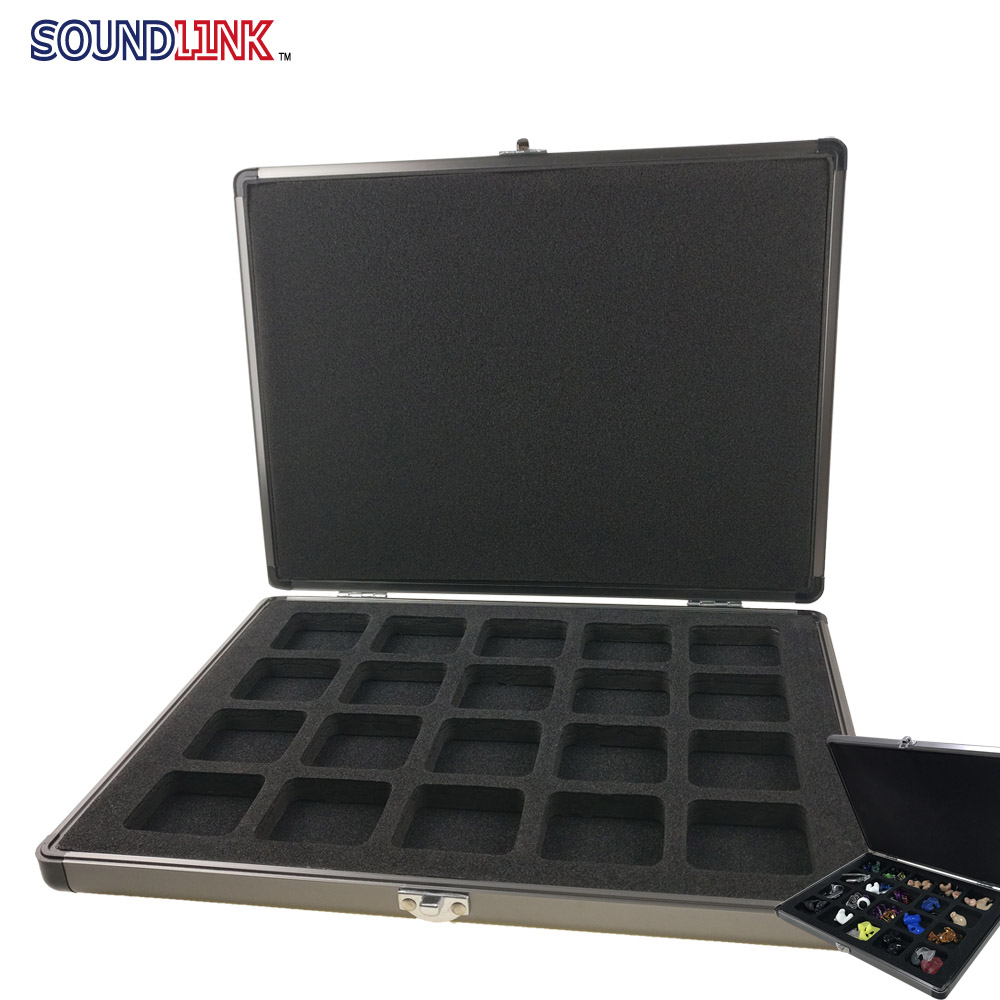 Hearing Aids Accessories Earmolds IEM Presentation Display Cases Boxes for Audiologists Hearing Aid Clinics Trade Shows<br>