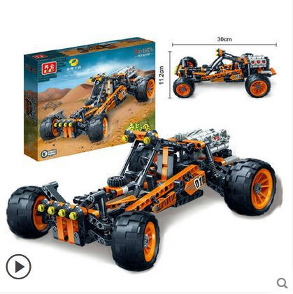 Banbao 6951 Racing Car Model cruiser 382 pcs Plastic Building Block Sets Educational DIY Bricks Toys for children<br>