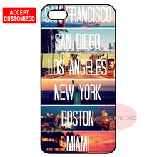 United States USA US City Cover Case for iPhone 4 4S 5 5S SE 5C 6 6S 7 8 Plus X iPod Touch 5 LG G2 G3 G4 G5 G6(China)