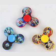 Cartoon Hot Hand Spinner Finger Fidget 3D With LED Light Rotation 360 For EDC ADHD Autism Anti Stress Toys Party Favor