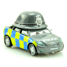 Disney Pixar Cars 2 British Sheriff 1:43 Diecast Metal Alloy Toys Baby Boys Girls Kids Toys for Birthday Christmas Party Gifts(China)