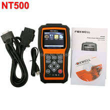 Foxwell NT500 For VW/AUDI/SEAT/SKODA Scanner OBD2 Code Reader Diagnostic Scan Tool Powerful All Systems Engine Airbag ABS A/T