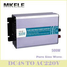High Quality MKP500-482 500w Inverter 48v Dc 220v Ac Pure Sine Wave Power Inversor Voltage Converter Solar China ultra boost(China)