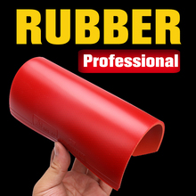Table tennis racket rubber sheet pimples in with 2.2mm thickness sponge red and black good quality racquet pingpong rubbers