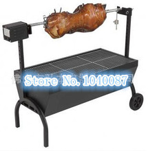 BIG auto charcoal BBQ ,charcoal bbq barbecue grill,outdoor bbq,220V electric motor