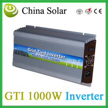 Grid Tied Inverter 1000W ,Solar Inverter AC Outputer Power 1000W for solar panel(China)