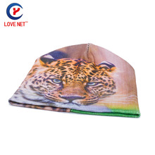 2017 New Spring Autumn Hats Cartoon Tiger pattern Caps Skullies Beanies Knitted hat Casual beanies hat for women DS20170105 x5
