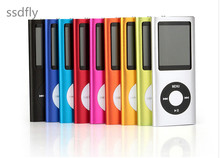 2017 The best gift ssdfly 4gb 8gb 16gb hot  4th gen mp3 mp4 player fm video