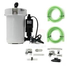 SUNSUN Brand New 6W External Canister Filter Table Top Aquarium Fish Tank 400L/h 220V 110V HW-603B EU US Plug(China)