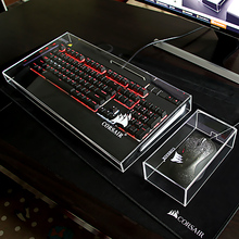 Acrylic Dust Protection Cover for Corsair Keyboard Mouse(China)